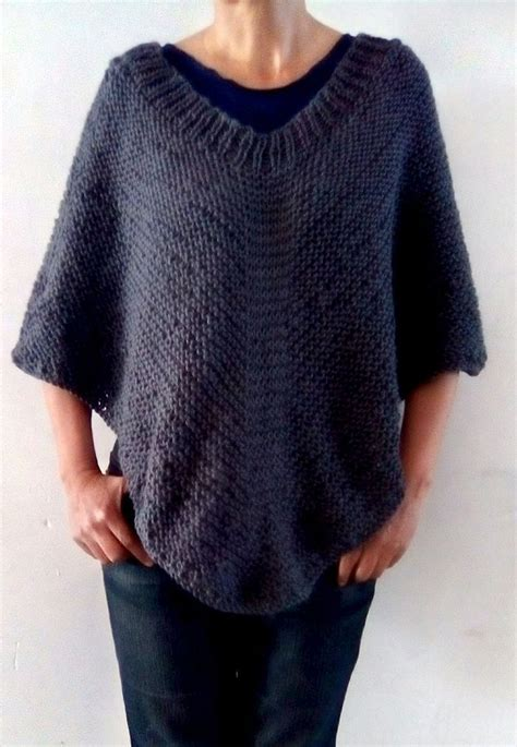 knit poncho free knitting pattern for easy moonlight poncho easy
