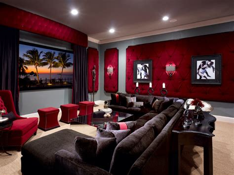 lake mary rustic style residence traditional home theater orlando  roman interior design