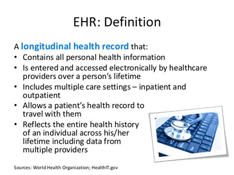 Records Meaning Electronic Health Records Implications For Imo State S Healthcare Sy
