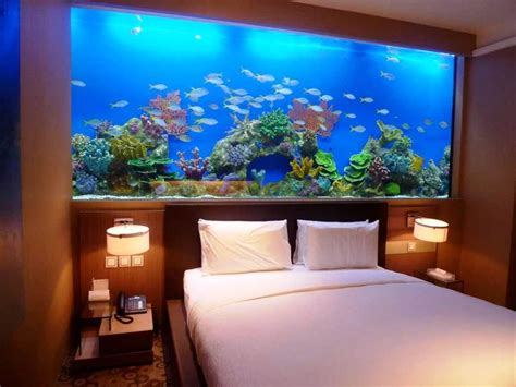 aquarium beds 8 extremely interesting places to put an aquarium in your home