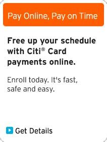 make citi card payment citi 174 credit cards