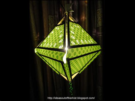 Folding Paper Lanterns - ideas out of the mist tutorial diwali folding