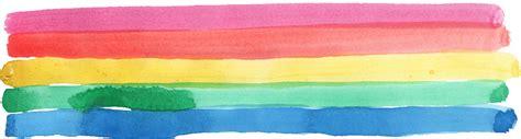 watercolor rainbow png transparent onlygfxcom