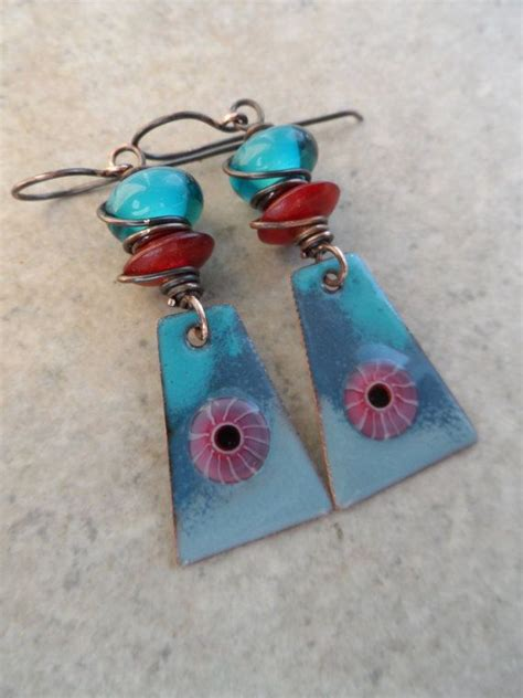 Enameled Jewelry Handmade - 1000 images about enameling on copper copper