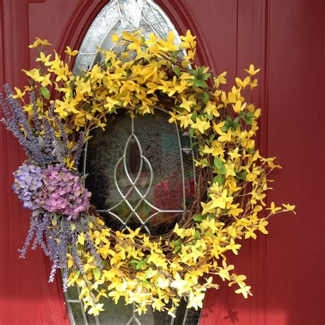 decorative wreaths for home spring wreath spring flower wreath decorative wreath