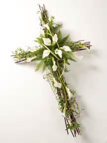 Greek Easter Decorations Calla Lily Cross