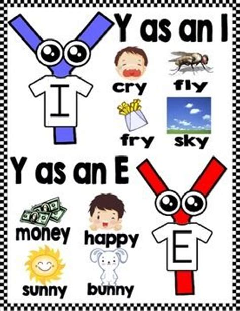 exle of y as a vowel 31 best y as a vowel images on