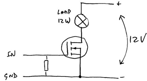 pull resistor gate mosfet pull resistor gate mosfet 28 images mosfet circuits mosfet switch not turning fully