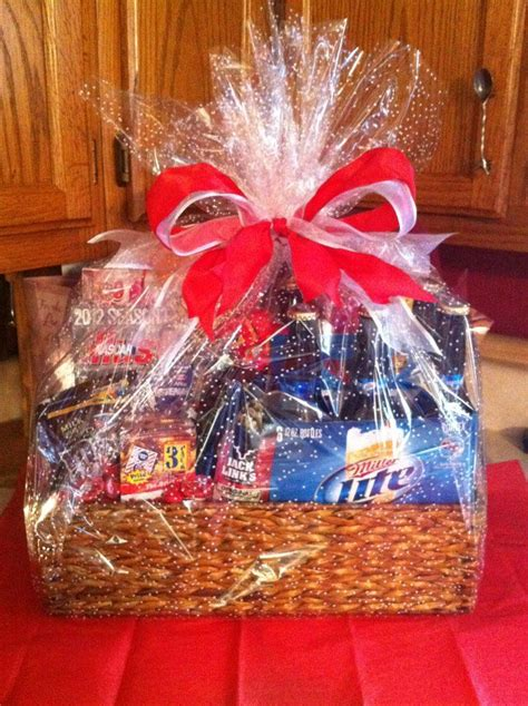 valentines gift baskets him valentines day basket for him care package