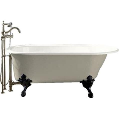 ferguson bathtubs k710 s 0 iron works 66 quot soaking tub white at shop