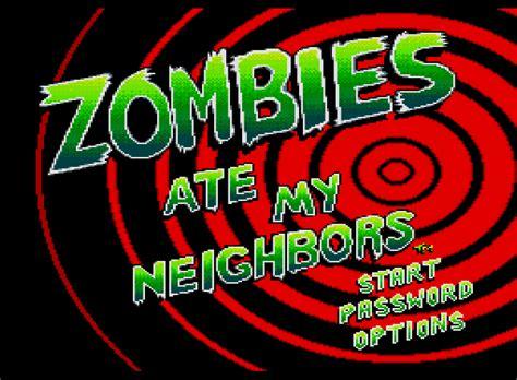 emuparadise zombies ate my neighbors zombies ate my neighbors usa rom