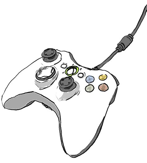Drawing Xbox by Xbox 360 Controller By Fanngorn On Deviantart