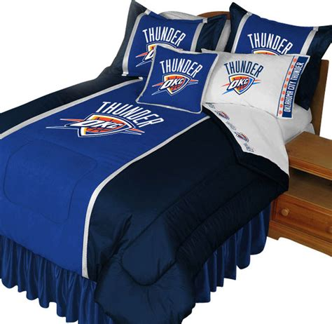 nba oklahoma city thunder comforter set basketball bedding