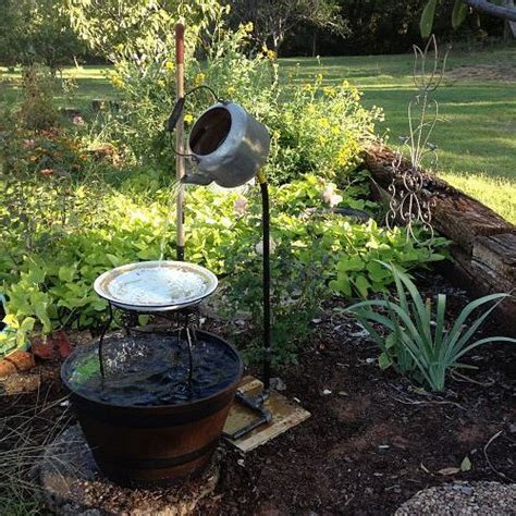 backyard fountains lowes my hubby spent an hour at lowes figuring out how to make this i it best lowes and
