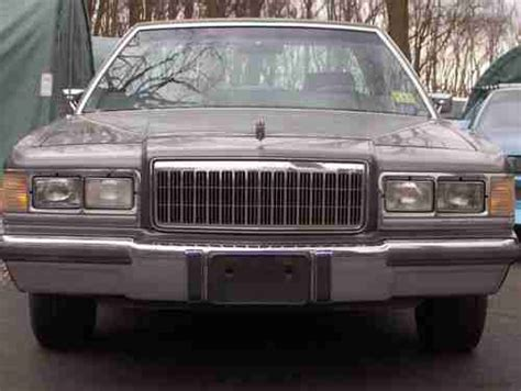 how to sell used cars 1989 mercury grand marquis electronic valve timing sell used 1989 mercury grand marquis 1 owner garage kept 116k new transmission and more in