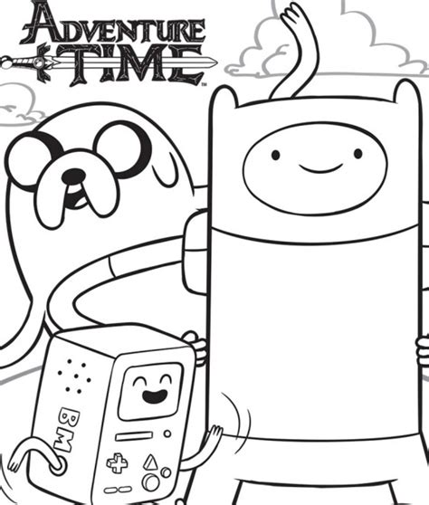 adventure time coloring pages only coloring pages