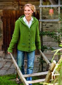 Home Design Store Outlet lana grossa damen kapuzenjacke royal tweed merino air