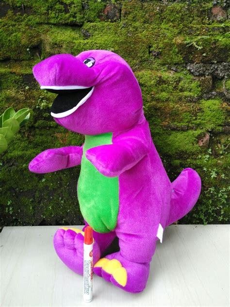 Boneka Dinosaurus Besar by Jual Boneka Dino Barney Ukuran L Jual Boneka Grosir