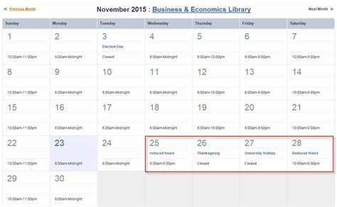 Columbia Mba Dates by Library Hours Watson Library