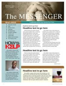 christian newsletter templates free welcome to memespp