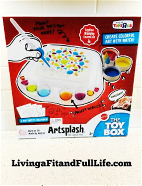 Box Artsplash 3d Liquid