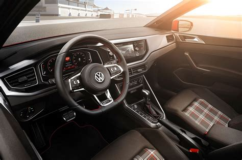 polo volkswagen interior vw polo 2018 in pictures by car magazine