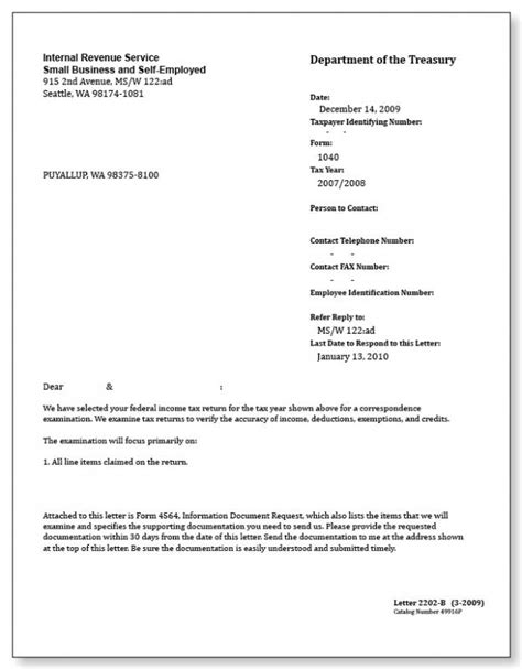 irs letter template shatterlioninfo