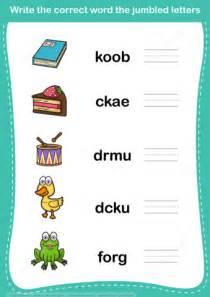 Character Letter Unscrambler Unscramble Word Worksheet Copy Free Printable Puzzle