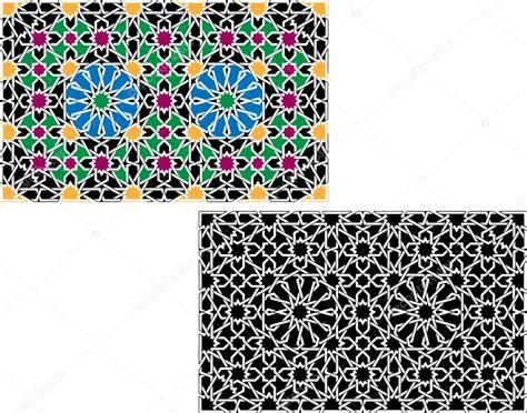 islamic pattern illustrator tutorial colorful islamic patterns stock vector 169 morrmota 11101331