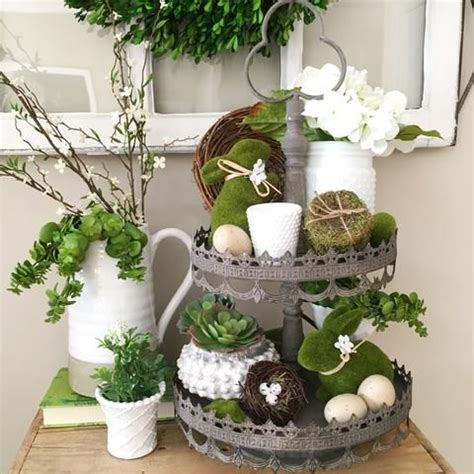 etagere dekorieren sommer 17 best images about decorating for and easter on