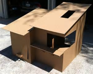 cardboard house diy cardboard box homes and towers for cats purrfect love the cat lovers community
