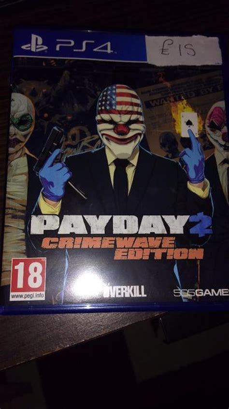 Best Seller Kaset Original Ps4 Payday 2 The Big Score Reg 1 ps4 payday 2 crimewave edition need bilston wolverhton