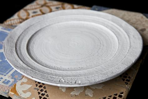 Handmade Dinner Plates - pietra shabby chic handmade dinner plate dishesonly