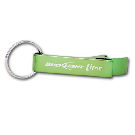 Bud Light Lime Bottle Opener With Keychain Wearyourbeer Com