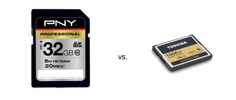 Memory Card V Sd Cards Vs Compact Flash Photolisticlife