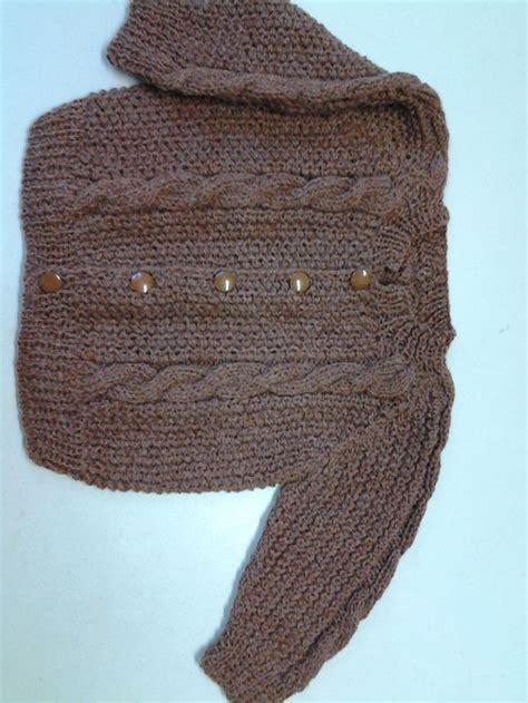 tejido con agujas sueter para ni 241 o talla 6 meses tejido con agujas en