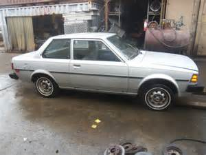 83 Toyota For Sale 83 Toyota Corolla Rear Wheel Drive Clean Title For Sale
