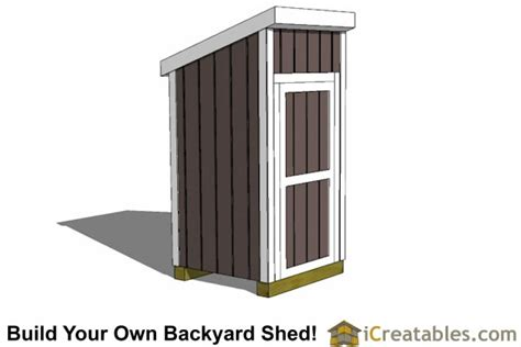 4x4 Shed by 4x4 Lean To Shed Small Shed Plans Garden Shed