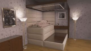 earthquake bed earthquake proof bed swallows you when it senses the