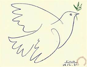 Van Gogh Flowers In A Blue Vase Pablo Picasso Blue Dove Art Print For Sale