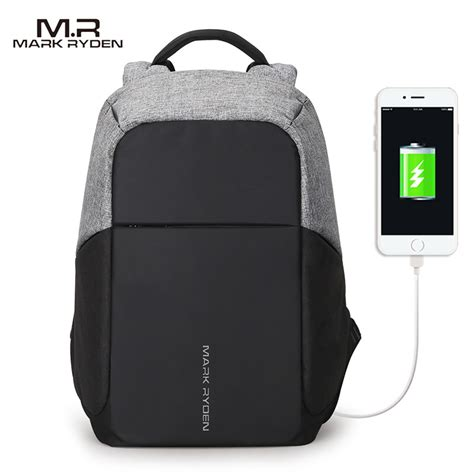 Price Tas Ransel Usb Port Anti Maling Tas Laptop Tas Anti Air ryden tas ransel anti maling dengan usb charger port mr5815zs black jakartanotebook