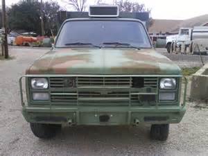 no0812 chevrolet m1031 maint truck