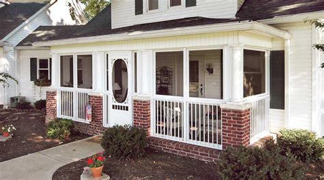 front enclosed porch ideas randolph indoor  outdoor