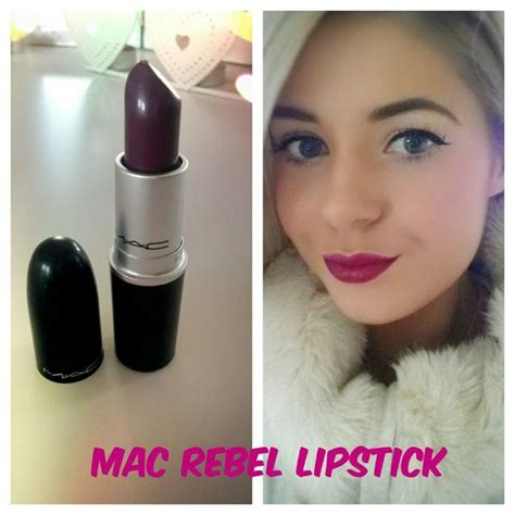 mac rebel lipstick mac rebel lipstick my new favourite dark lipstick