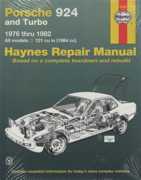 small engine repair manuals free download 1985 porsche 928 regenerative braking porsche 924 and turbo 1976 982 haynes workshop repair manual sagin workshop car manuals
