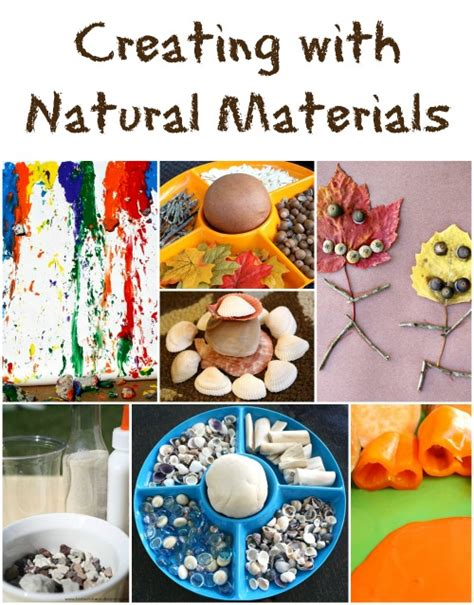 natural materials art made from natural materials for crafts