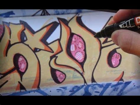 paint marker graffiti sticker speed art youtube