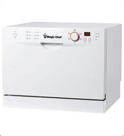 Magic Chef Countertop Dishwasher by 10 Best Dishwashers Best Reviews Now