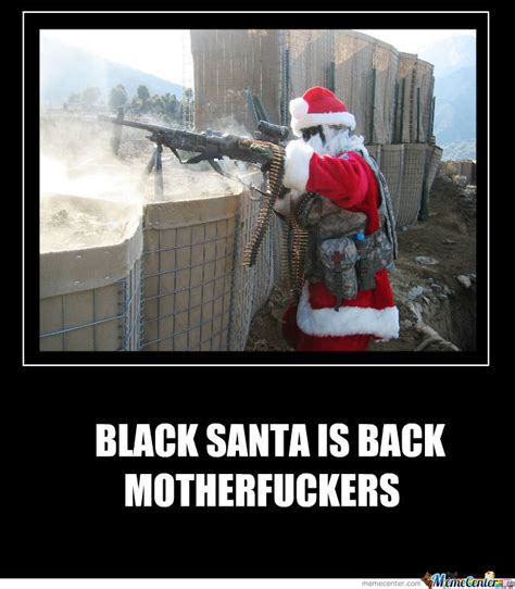 Black Santa Meme - black santa by jauneil meme center