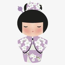 日本娃娃素材图片免费下载 高清图标素材png 千库网 图片编号75622